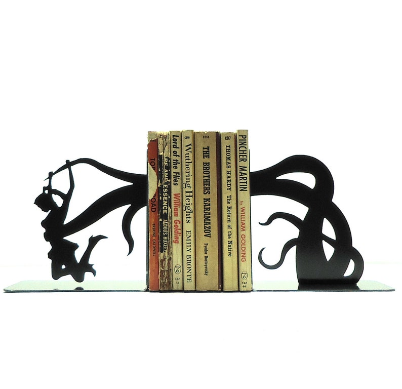 Tentacle Attack Bookends image 0