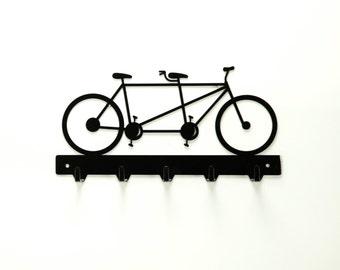 Tandem Bicycle Key Rack