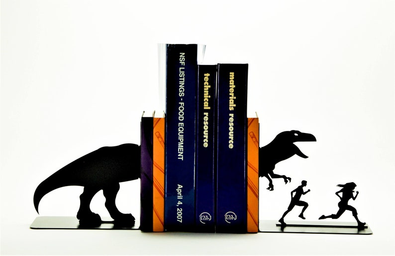 T-Rex Attack Bookends image 0
