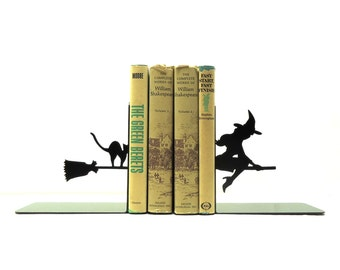 Witch Bookends