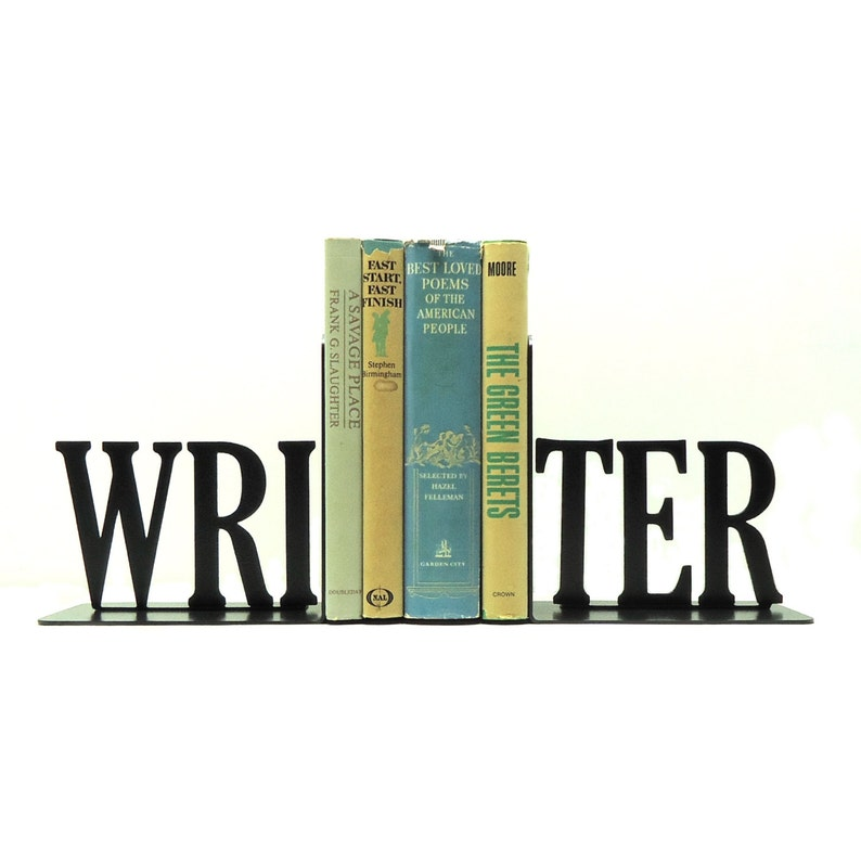 Writer Bookends image 0