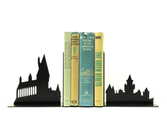 Wizard School Bookends