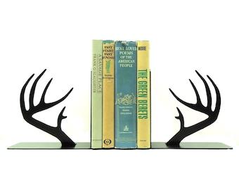 Deer Antler Bookends