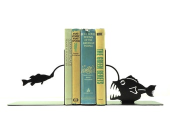 Angler Fish Bookends