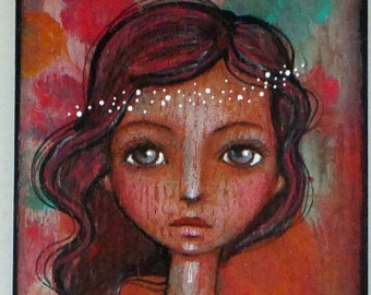 Spirits Engrained Acrylic and colored pencil online class