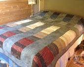 Stacked Coins bed quilt j...