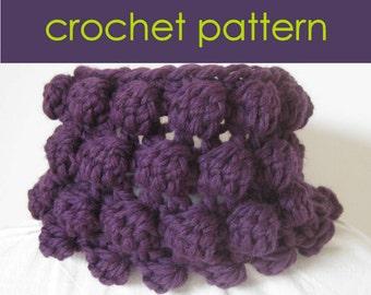 Crochet Bobble Cowl PDF