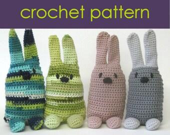 Rabbit Crochet Pattern PDF