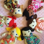 Custom cloth doll you choose hair/eyes/skin tone/girl or boy