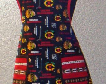 Women's Chicago Blackhawks Hockey Print Full Apron