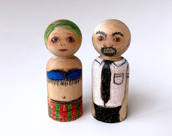 Little Wood Couple on Blind Date