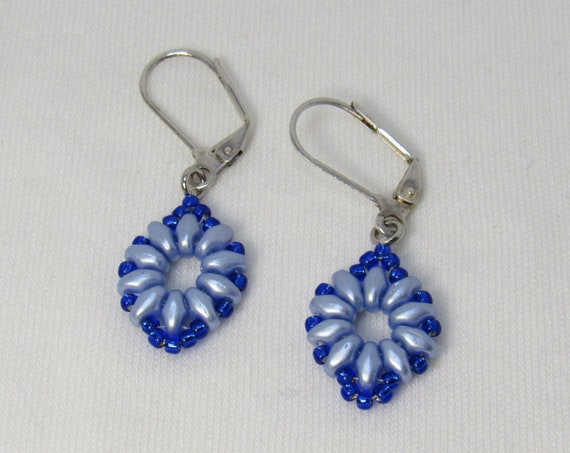 Light & Bright Blue Earrings SKU: ER12