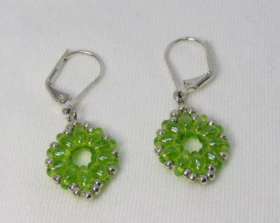 Lime Green Earrings SKU: ER08