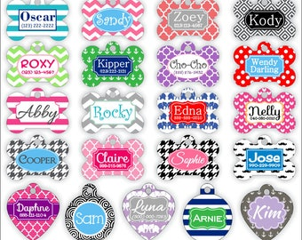 Custom Double-sided Dog Tag Personalized Pet Tag Personalized Dog Tag Custom Dog Tag Custom Pet Tag Double Sided Dog Tag Dog Tags for Dogs