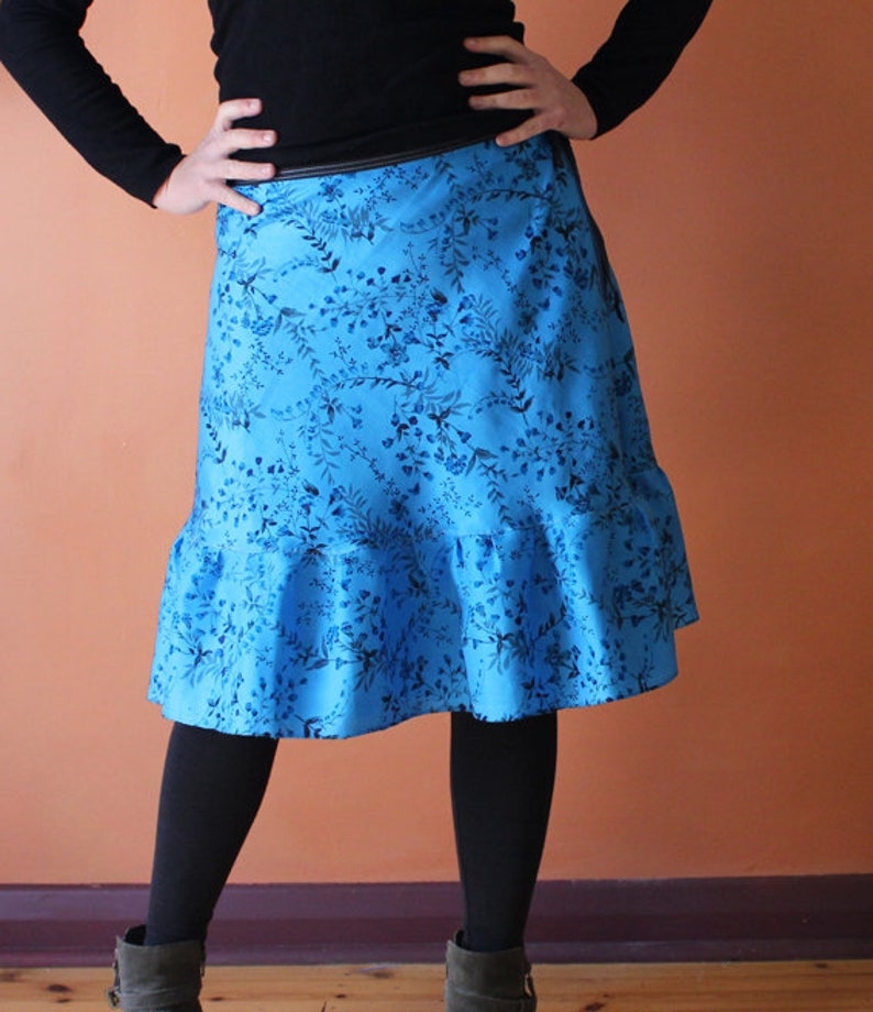 small to large Wrap Skirt one size fits most