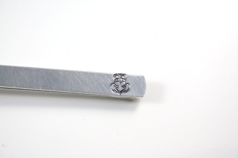 Claddagh Tie Bar With Hidden Message image 0