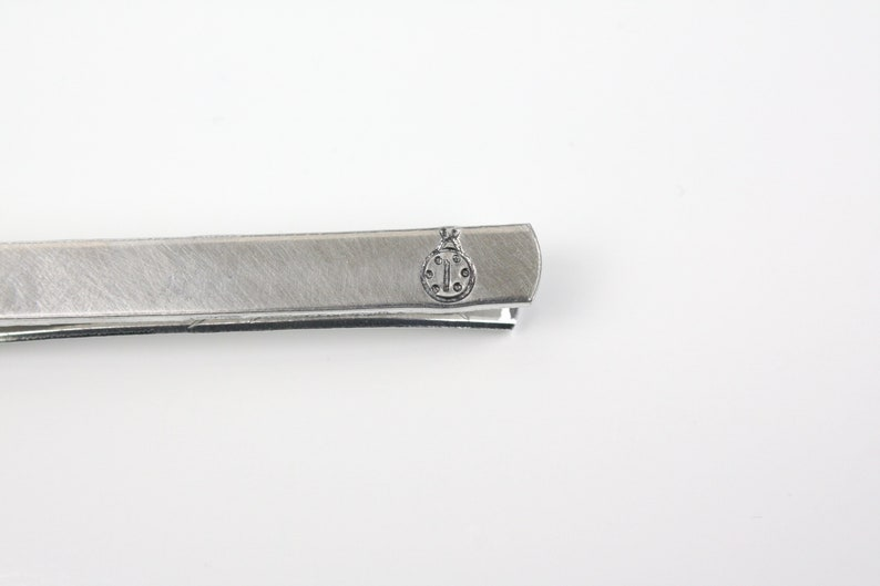 Ladybug Tie Clip With Hidden Message image 0