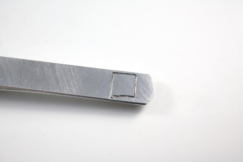 New Mexico Tie Clip With Hidden Message  NM image 0