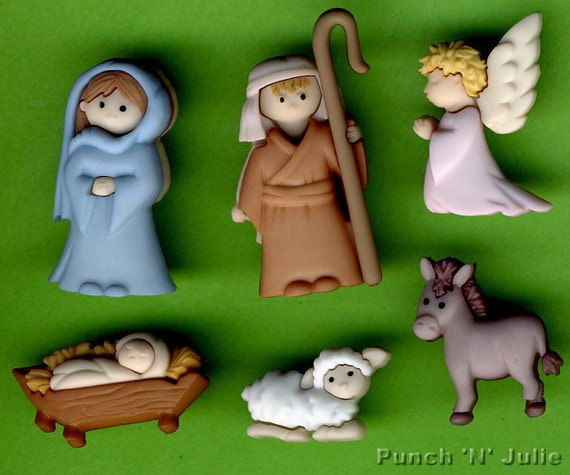 Botones Dress It Up /We Three Kings Collection Navidad/ /los tres Reyes Magos/