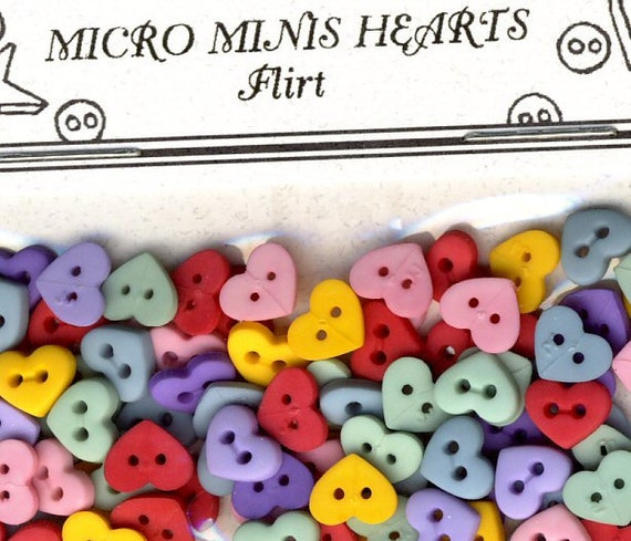 Multi-Purpose Craft Supplies Crafting Pieces FLIRT MICRO MINI STARS Christmas Baby Easter Dress It Up Craft Buttons
