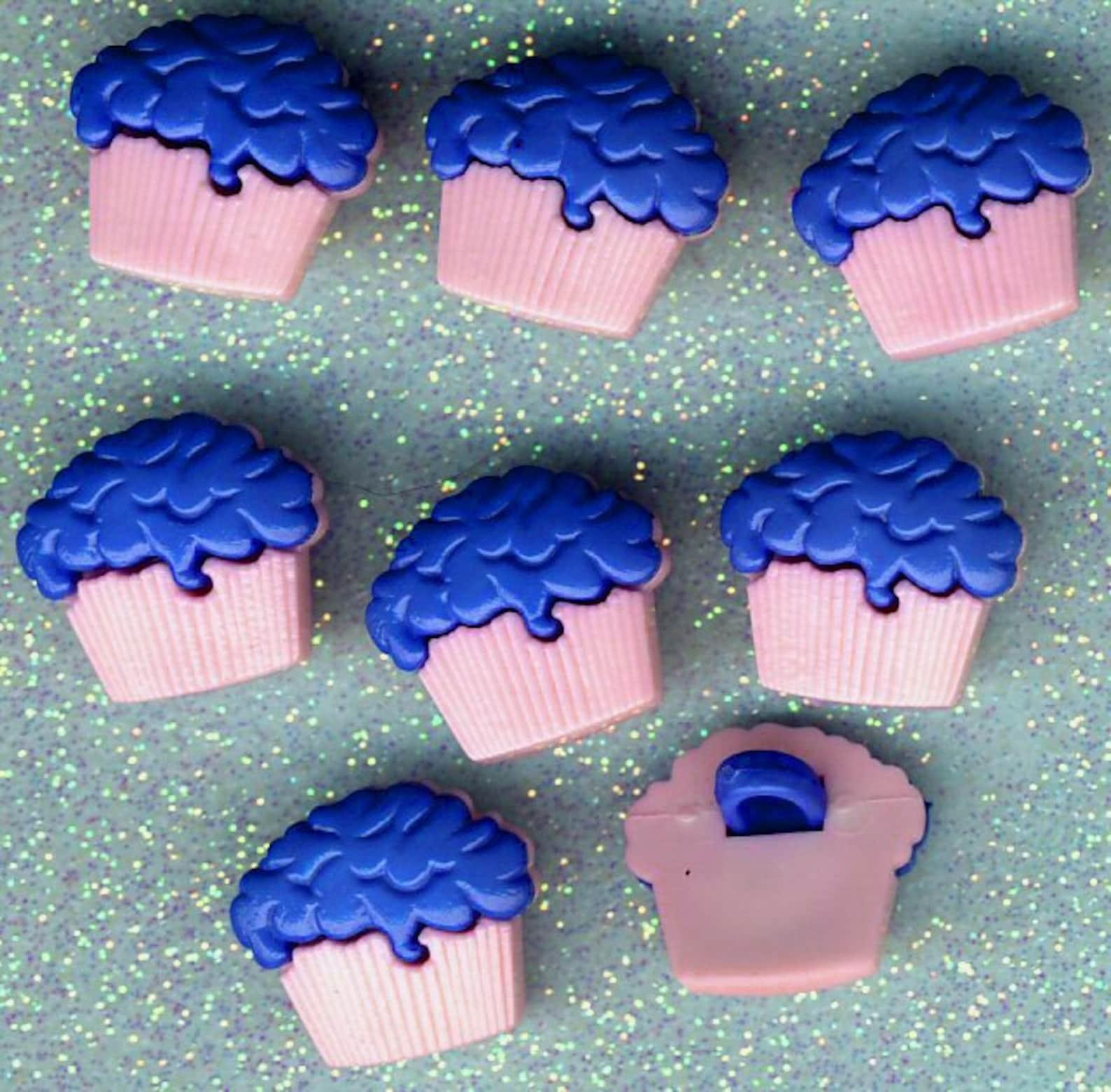 Caja PINK y BLUEBERRY TOPPING Cupcake Pastel de Hada ...