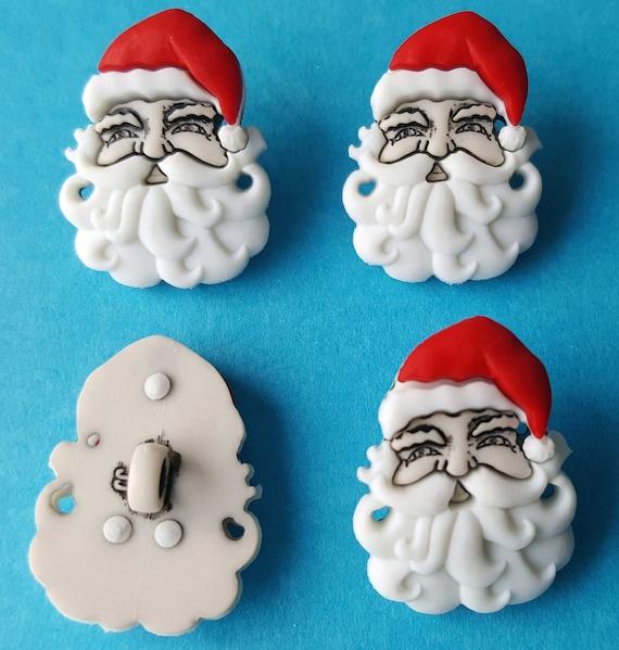 SEW CUTE SLEIGH /& REINDEER Craft Buttons 1ST CLASS POST Christmas Baby Novelty