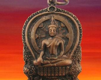 23 yrs Old Friday Birthday Buddha  Deeply Thinking Buddha for Friday,Lp Khawtakraw  amulet Pendant free paracord necklace