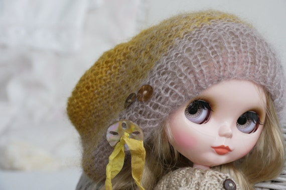 Adorable Doll Sweater for 12/'/' Dolls Accessory for Blythe//Licca//Azone Orange