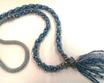 Kumihimo, PATTERN, necklace, long, PDF Download, Beads, Kumihimo Pattern