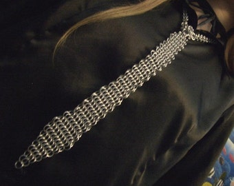 Chainmail Neck Tie