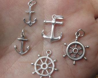 Pirate ship sailboat chs2400 10 SAILING SHIP silver charms