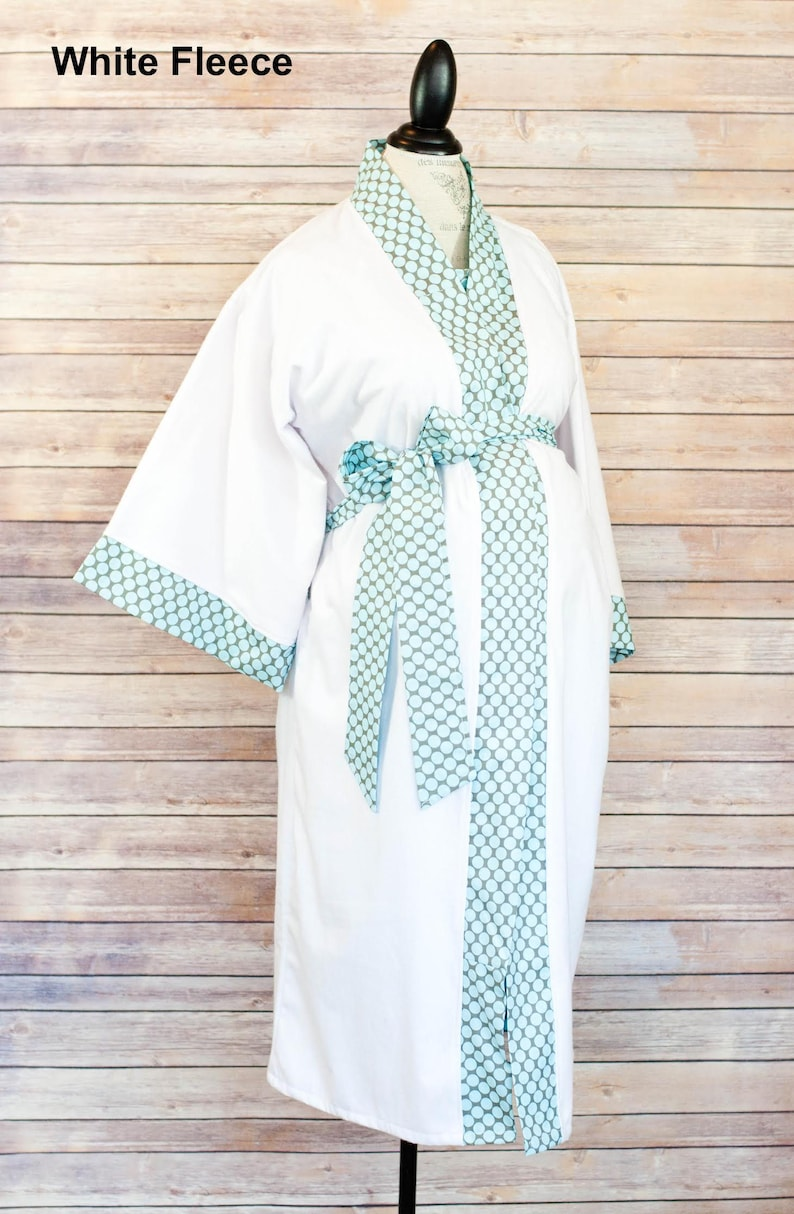 85757c44707f6 Avery Maternity Kimono Robe and Gown Set | Etsy
