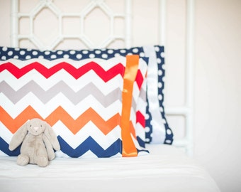Set of 2 Matching Pillow Cases to Coordinate with your Maternity Hospital Gown - A perfect memento for your nursery or child's room