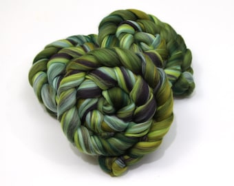 Merino Wool (4oz) | Combed Top / Roving for Spinning and Felting