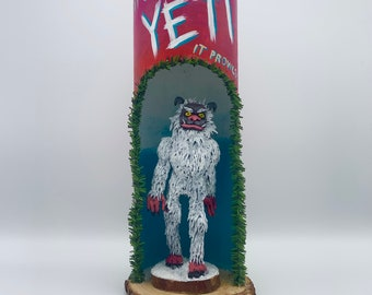Yeti Monster Sculpture