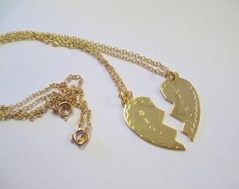 Vintage 90's Best Friend Necklace Set DEADSTOCK