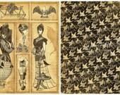 Graphic 45, Steampunk Debutante, Time Warp, 12 x 12 Single Sheet, Vintage Retired