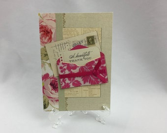 Anna Griffin, Handmade Card, Thank You, Sister, Daughter, Friend, Mother, Wife