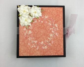 Graphic 45 Mon Amour Mini Album, Handmade, Mini Album, Scrapbooking, Love, Valentine, Engagement, Wedding, Anniversary