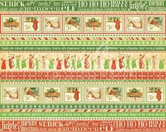 Graphic 45, Twas the Night Before Christmas, Ho Ho Ho, Single, 8 x 8, Santa, Christmas, Retired