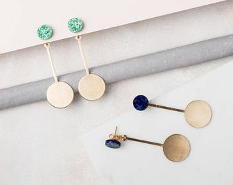 DOT - DOT Front and Back Earrings