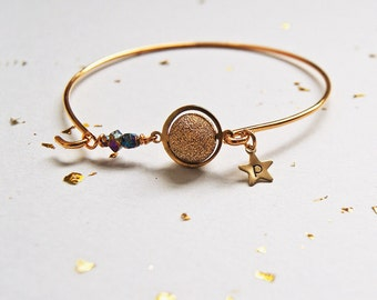 ORBIT Personalised Initial Star and Planet Bangle
