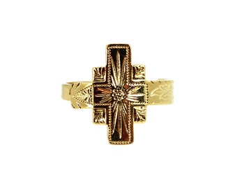 SALE // Adina Vintage Cross Ring