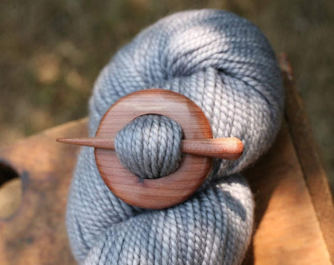 Red Cedar Shawl Pin