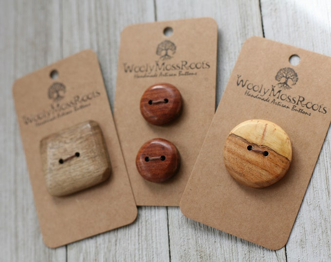 Handmade Button Mix {4 Buttons}