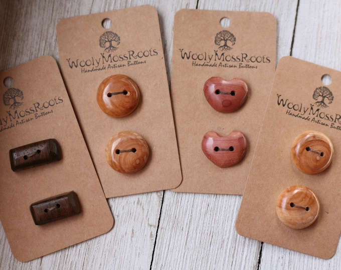 SALE! Handmade Button Mix {8 Buttons}