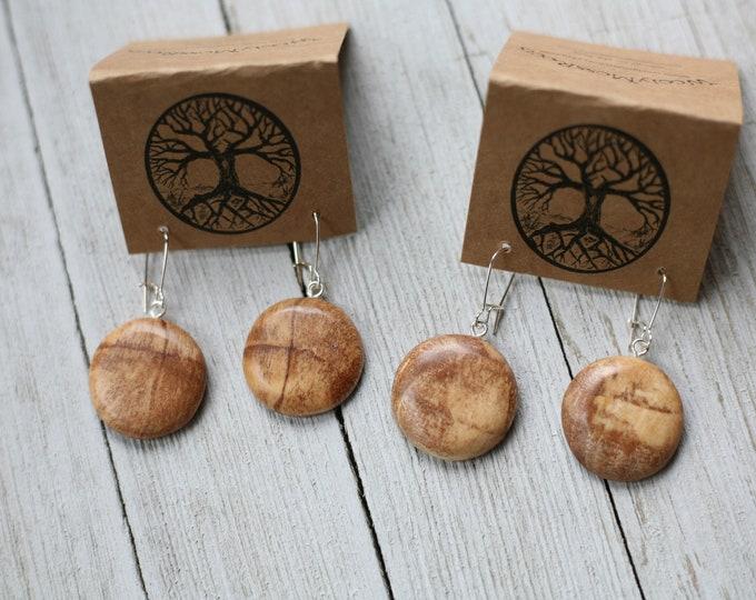Spalted Maple Earrings