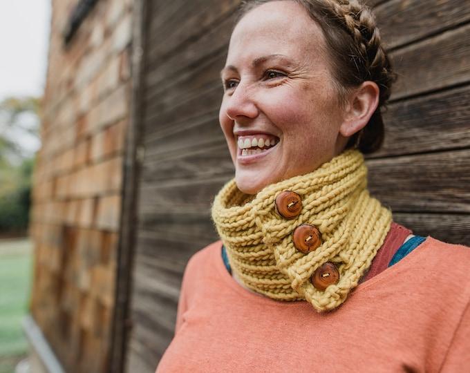 Comfort Cowl : Knitting Pattern {PDF Download}