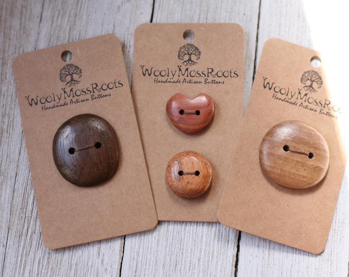 Handmade Button Mix {4 Buttons}