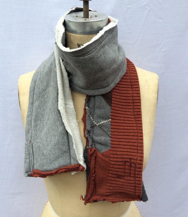 fleece scarf winter scarf warm scarf image 0